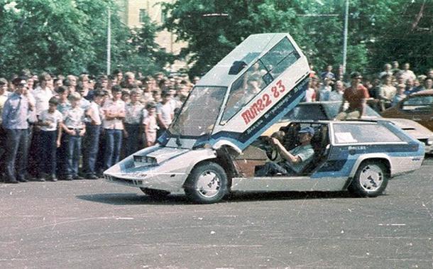 Мощный советский спорткар «Панголина» - наш ответ Lamborghini Countach