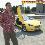 Иванцов Сергей и его самодельный легковой автомобиль ISV видео.