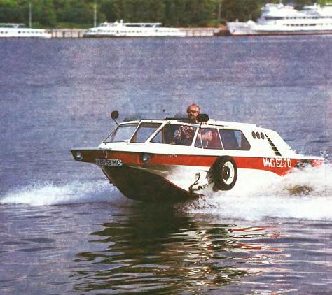 Советский автомобиль-амфибия «Тритон», ставший несбыточной мечтой россиян