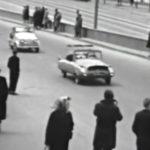 Парад 1965 года. Самодельные автомобили видео.