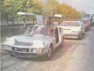 Самодельный легковой автомобиль Орор.