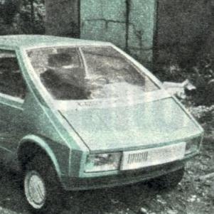 Самодельный легковой автомобиль Мария.