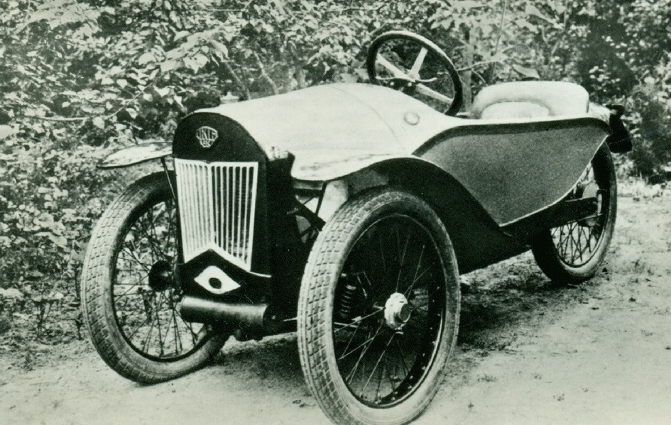Первый самодельный автомобиль.