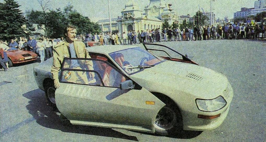Самодельный легковой автомобиль Вега 1600 GT.