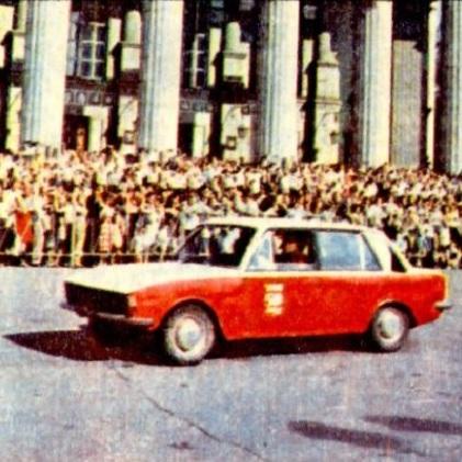 Самодельный легковой автомобиль Марафон.