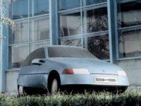 Макет перспективного автомобиля ЗАЗ-1106