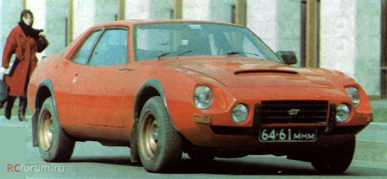 Самодельный автомобиль Спорт-1500 Юрия Врубеля.
