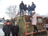 Официальное открытие неофициального музея автомобильной техники