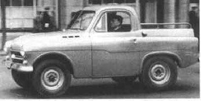 Вариант ГАЗ-М73 с кузовом пикап.