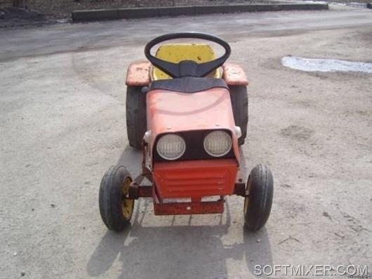 Детский педальный трактор ОРЛЕНОК.