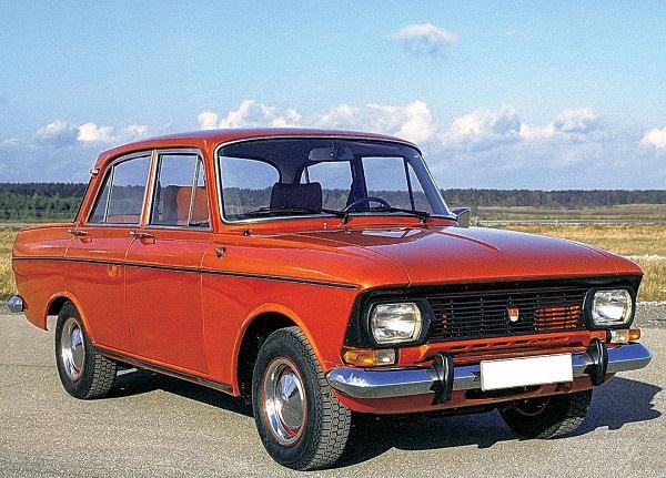 Москвич-412 от Порше.