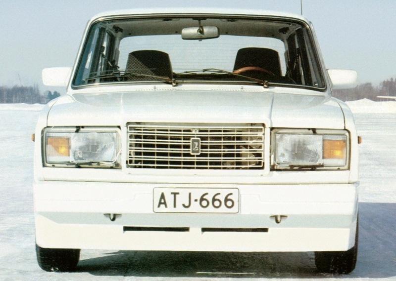 Доработка ВАЗ-2107 и внешний тюнинг экспортных версий.