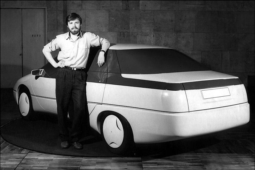Автомобиль Истра и дизайнер Сергей Ивакин.