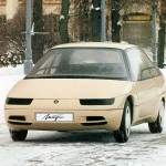 Автомобиль АЗЛК-2144 Истра и его многотопливный двигатель
