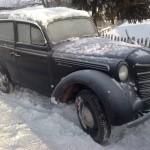 Наш музей: Москвич-401 (черный)