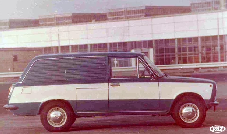 Советский электромобиль ВАЗ-2801.