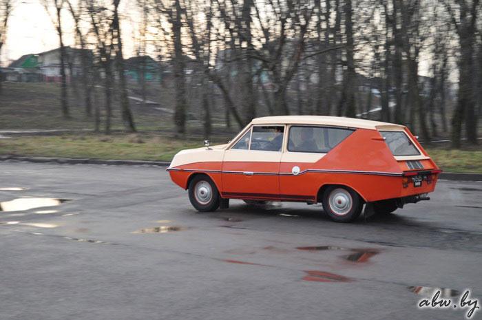 Самодельный автомобиль Фантазия.