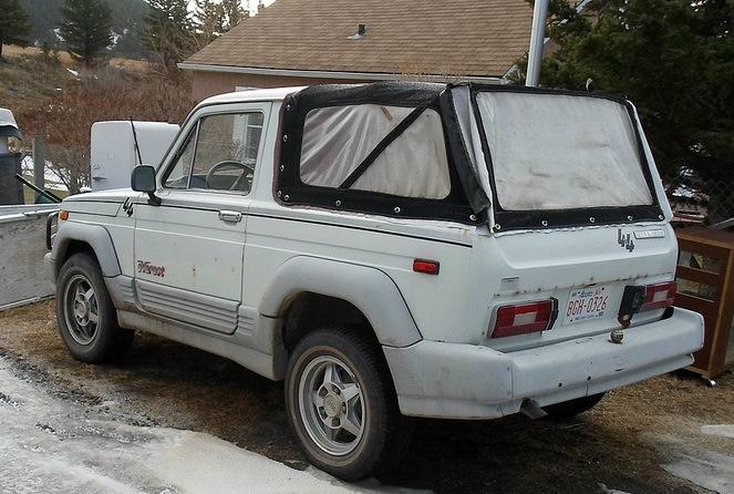 Экспортная НИВА - кабриолет из НИВЫ ВАЗ-2121.