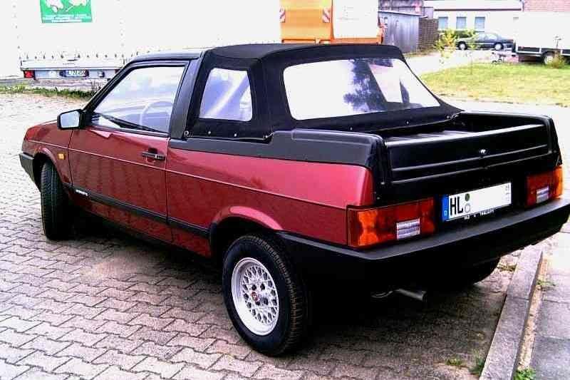 Экспортные кабриолеты ВАЗ-2108. Lada Samara Fun.