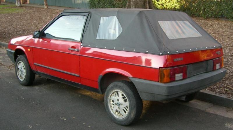 Экспортные кабриолеты ВАЗ-2108. Австралийская версия.