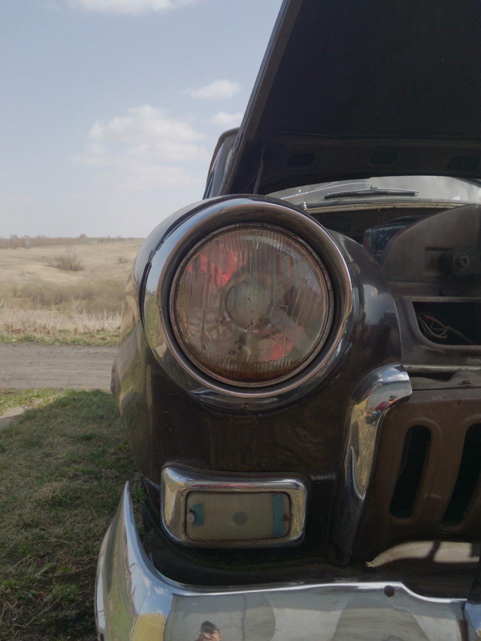 Ретро авто России: автомобиль ГАЗ-21 Волга Ильи Лисоты.