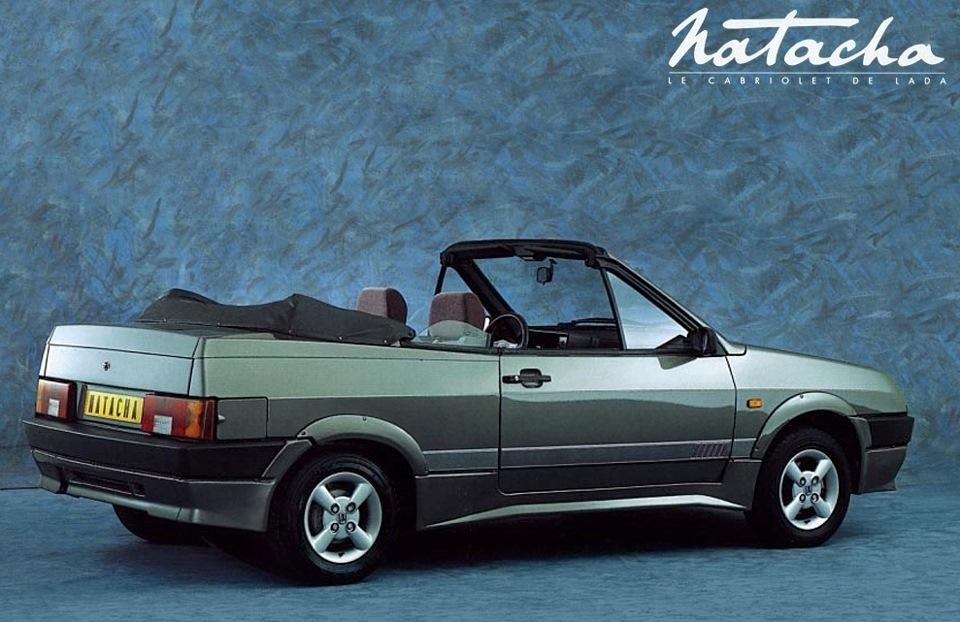 Экспортный кабриолет ВАЗ-2108 Наташа.