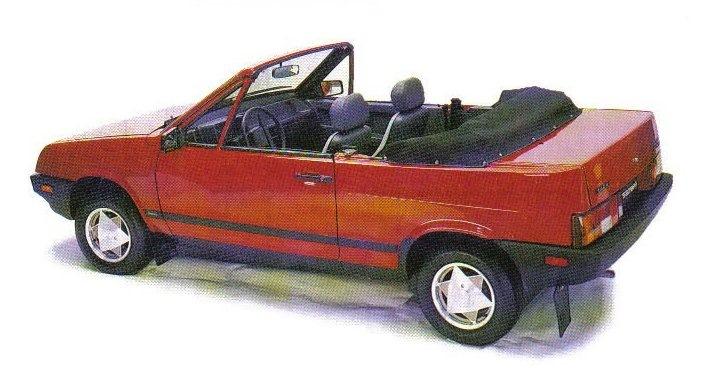 Экспортные кабриолеты ВАЗ-2108. Канадский вариант.