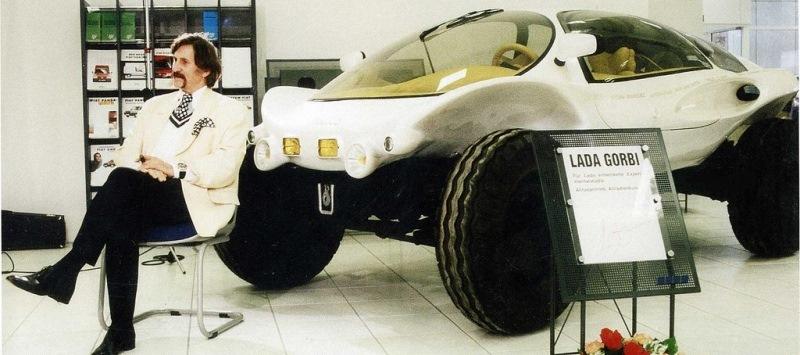 LADA GORBI от Луиджи Колани: база - НИВА, фото прототипа.