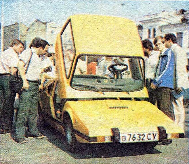 Автомобиль Мурена.