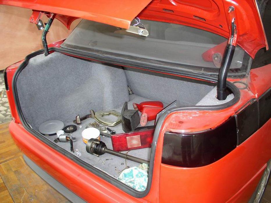 Багажник АЗЛК-2143.