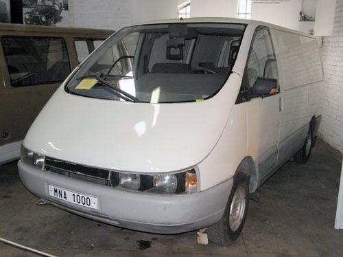Фургон BAZ TYP MNA 1000.