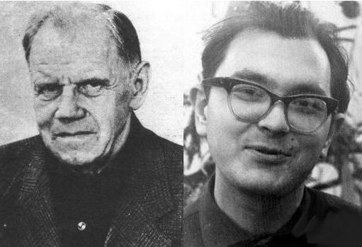Игорь Александрович Гладилин и Лев Михайлович Шугуров.
